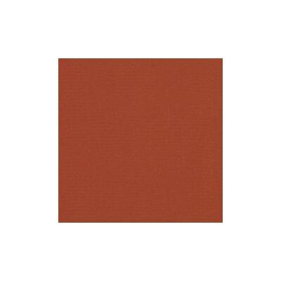 Malibu Outdoor Teak 6 Piece Deep Seating Group Set Fabric: Brick