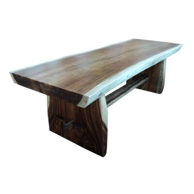 Solid Live Edge Dining Table