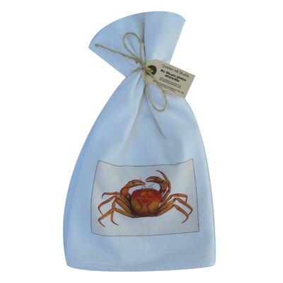 Golden Hill Studio Mud Crab Flour Sack Towel (Set of 3)