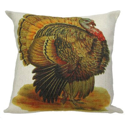 Turkey Pillow Cover