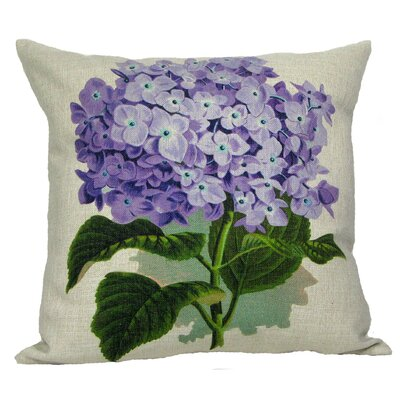 Purple Hydrangea Pillow Cover