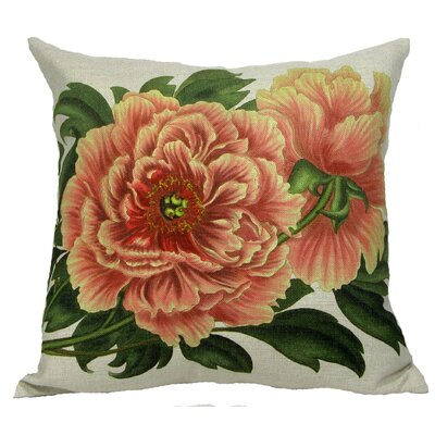 Tree Peony Pillow Cover