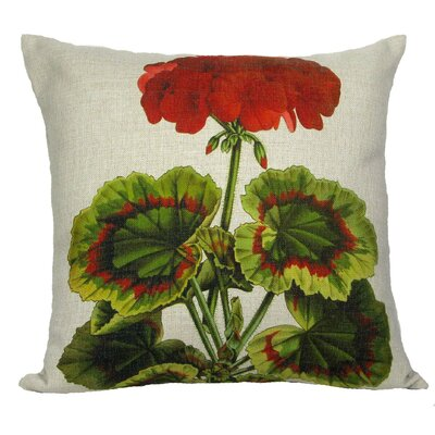 Geranium Pillow Cover