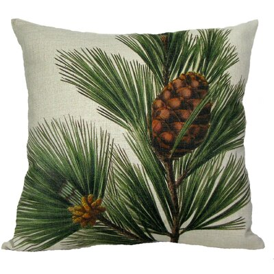 Pine Bough Throw Pillow