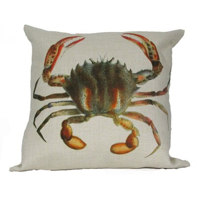Crab Pillow Cover