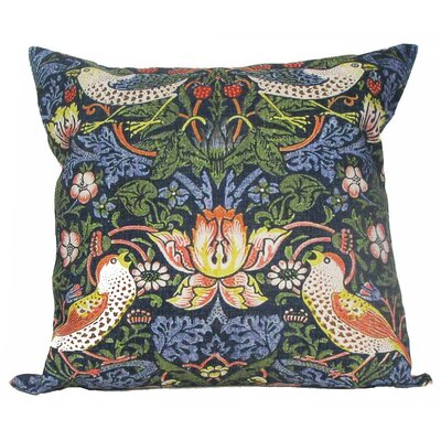 William Morris Birds Pillow Cover