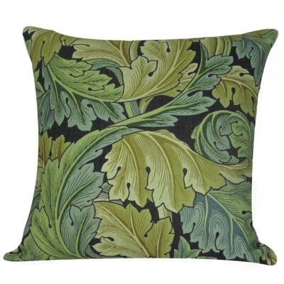 William Morris Leaves Throw Pillow Cover