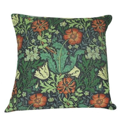 William Morris Throw Pillow