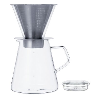 Kinto Carat Coffee Dripper and Pot 21678