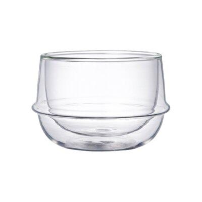 Kinto Kronos Double Wall Tea Cup (Set of 2) 23105