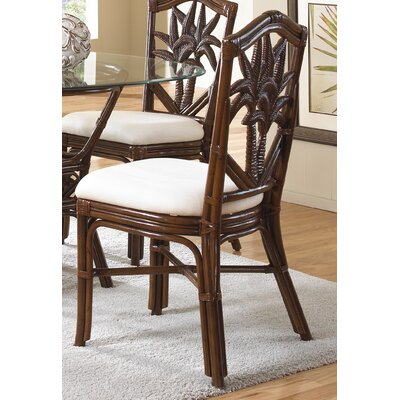 In store financing Cancun Palm Dining Side Chair with ...