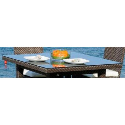 Hospitality Rattan Soho Patio Woven Square Dining Table Top at Sears.com