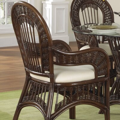 Credit for St Lucia Dining Arm Chair with Cush...