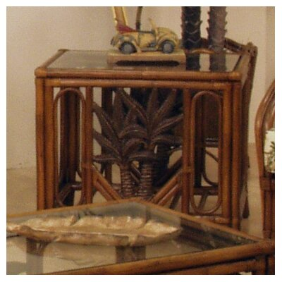 In store financing Cancun Palm End Table...