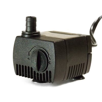 "30-45 GPM Aquarium and Fountain Pump with 24"" Tubing"