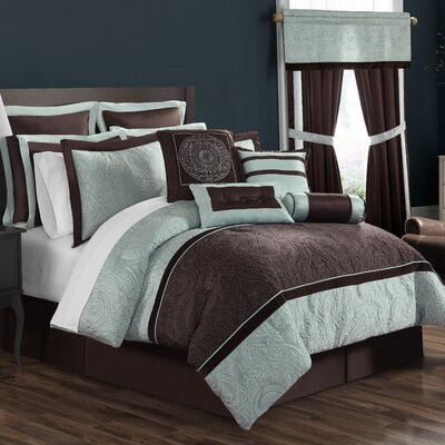 Lenox 16 Piece Comforter Set Size: King
