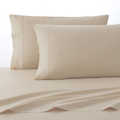 300 Thread Count Pima Cotton Sheet Set Size: Twin, Color: Taupe