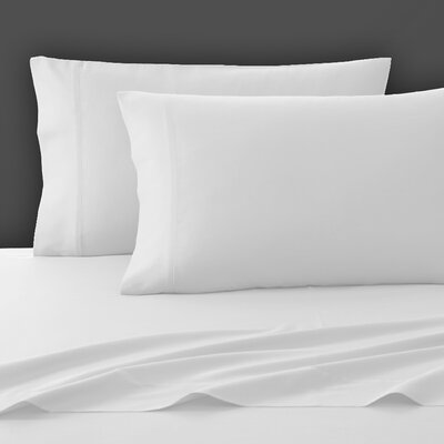 300 Thread Count Pima Cotton Sheet Set Size: King, Color: White