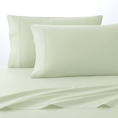 300 Thread Count Pima Cotton Sheet Set Size: King, Color: Almost Aqua