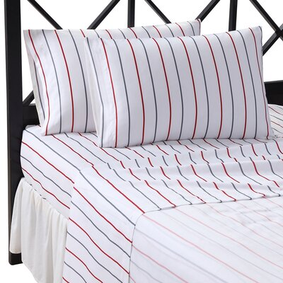 Charmell Stripe Sheet Set Size: California  King