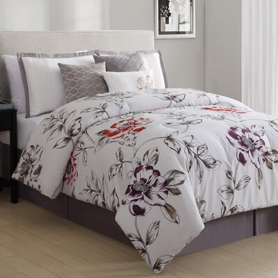 Studio Sorelle 7 Piece Comforter Set Size: Queen