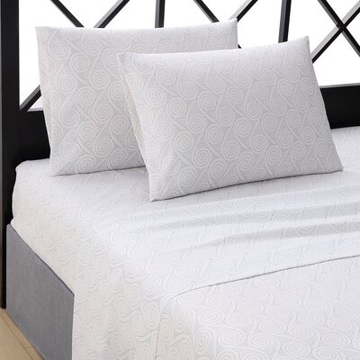 Nautilus 4 Piece Sheet Set Size: Queen