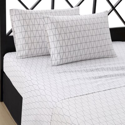 Variations 4 Piece Sheet Set Size: Queen