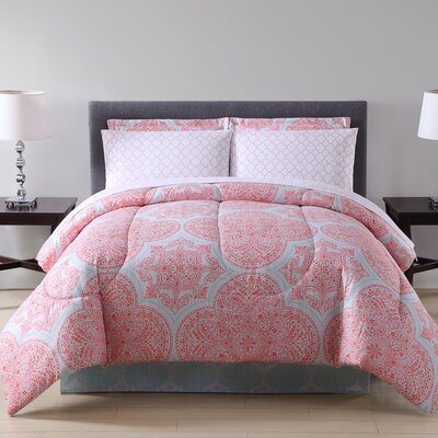 Ellison Studio 8 Piece Comforter Set Size: Full