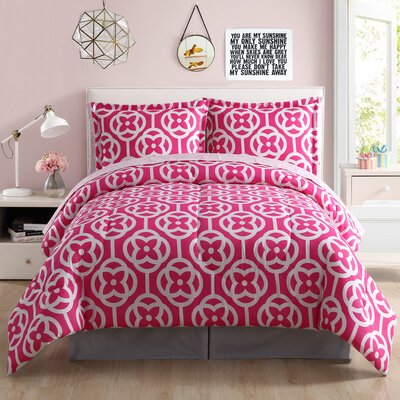 Meili 8 Piece Comforter Set Size: Queen