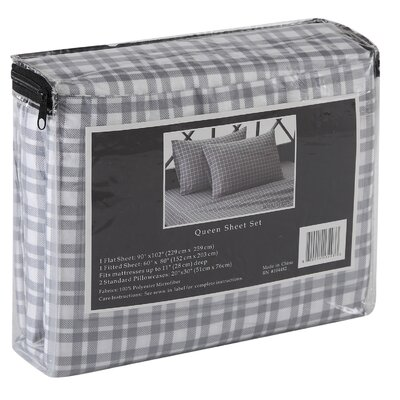 Soho 4 Piece Sheet Set Size: Full