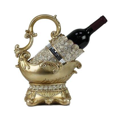 Suzette 1 Bottle Tabletop Wine Bottle Rack