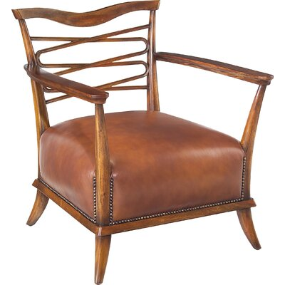 Caramel Leather Leon Armchair