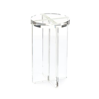 Crystal Martini End Table