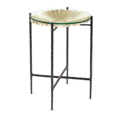Sun Disc End Table