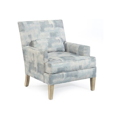 Track Arm Chair Upholstery: 2063 Fabric, Finish: Q04 Weathered Linen