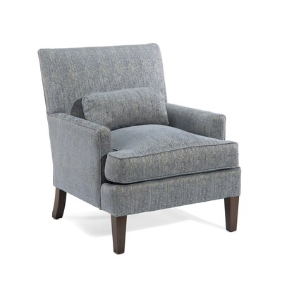 Track Arm Chair Upholstery: 1052 Fabric, Finish: Q01 Dark