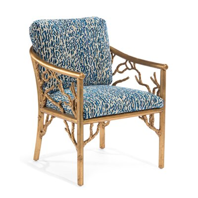 Branch Arm Chair Upholstery: 5002 Fabric