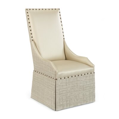 High Back Upholstered Dining Chair Upholstery: 1062 Fabric