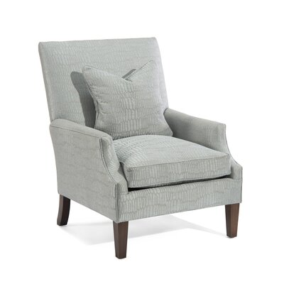 Scoop High Back Arm Chair Upholstery: 2060 Fabric