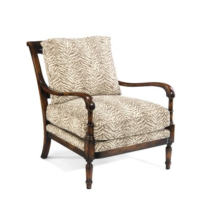 Chadwick Arm Chair Upholstery: E484 Fabric