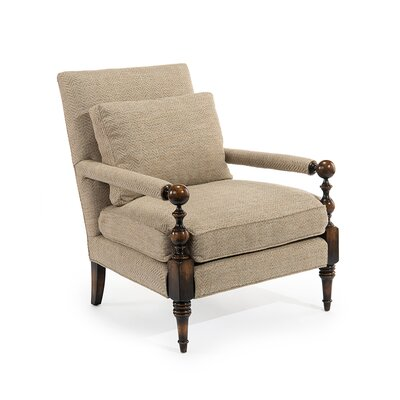 Transitional Arm Chair Upholstery: 2105 Fabric