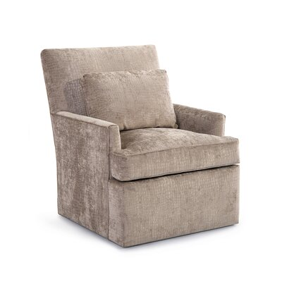 Track Swivel Arm Chair Upholstery: 2065 Fabric