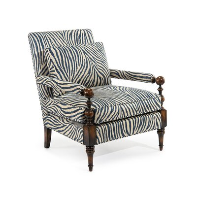 Transitional Arm Chair Upholstery: C392 Fabric
