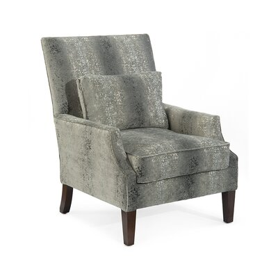 Scoop High Back Arm Chair Upholstery: 2074 Fabric