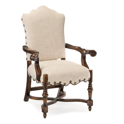 French Linen Dining Arm Chair (Set of 2)