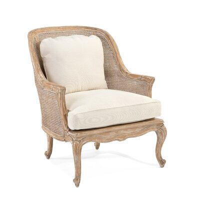 Cane-Back Bergere Arm Chair