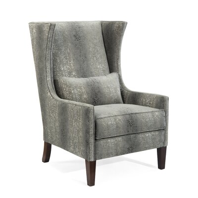 High Back Wingback Chair Upholstery: 2074 Fabric