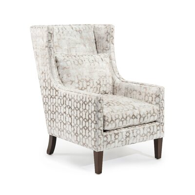 High Back Wingback Chair Upholstery: 2101 Fabric