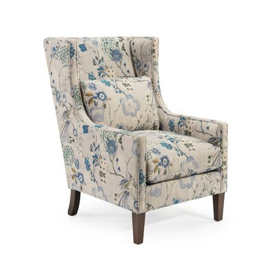 High Back Wingback Chair Upholstery: 2097 Fabric