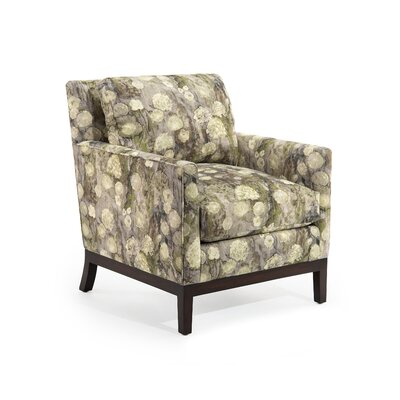 Curved Back Track Arm Chair